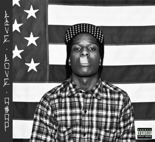LIVE.LOVE.ASAP Mixtape Cover