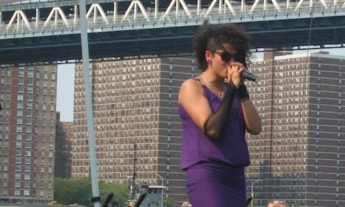 Zaki Ibrahim - Brooklyn Hip Hop Festival 2008